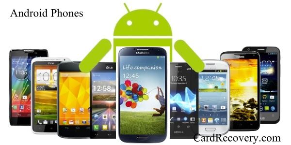 How to Recover Photos from Android and Samsung Galaxy Phone - Card ...Android Phones - Recover Deleted Photos