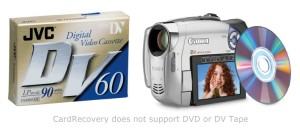 camcorder photo and video recovery